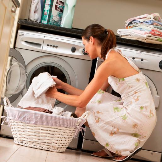 стирка белого белья в стиральной машине