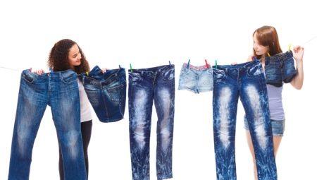 с чем стирать джинсы