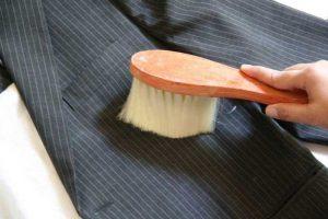 как почистить пиджак