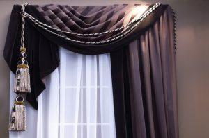 как постирать шторы
