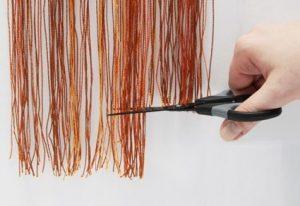 как стирать шторы-нити