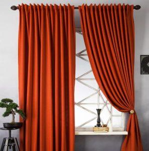 как постирать шторы в домашних условиях