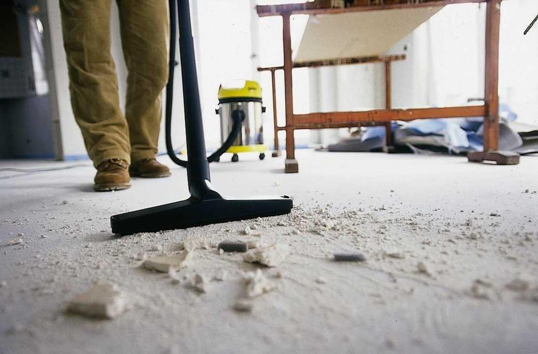 уборка после строителей самостоятельно
