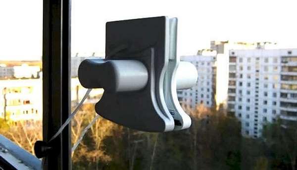 магнитная щётка для окон
