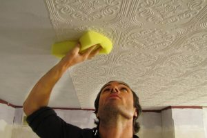 очистка стен и потолка