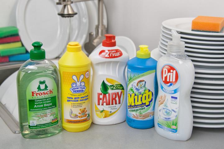 чем мыть посуду