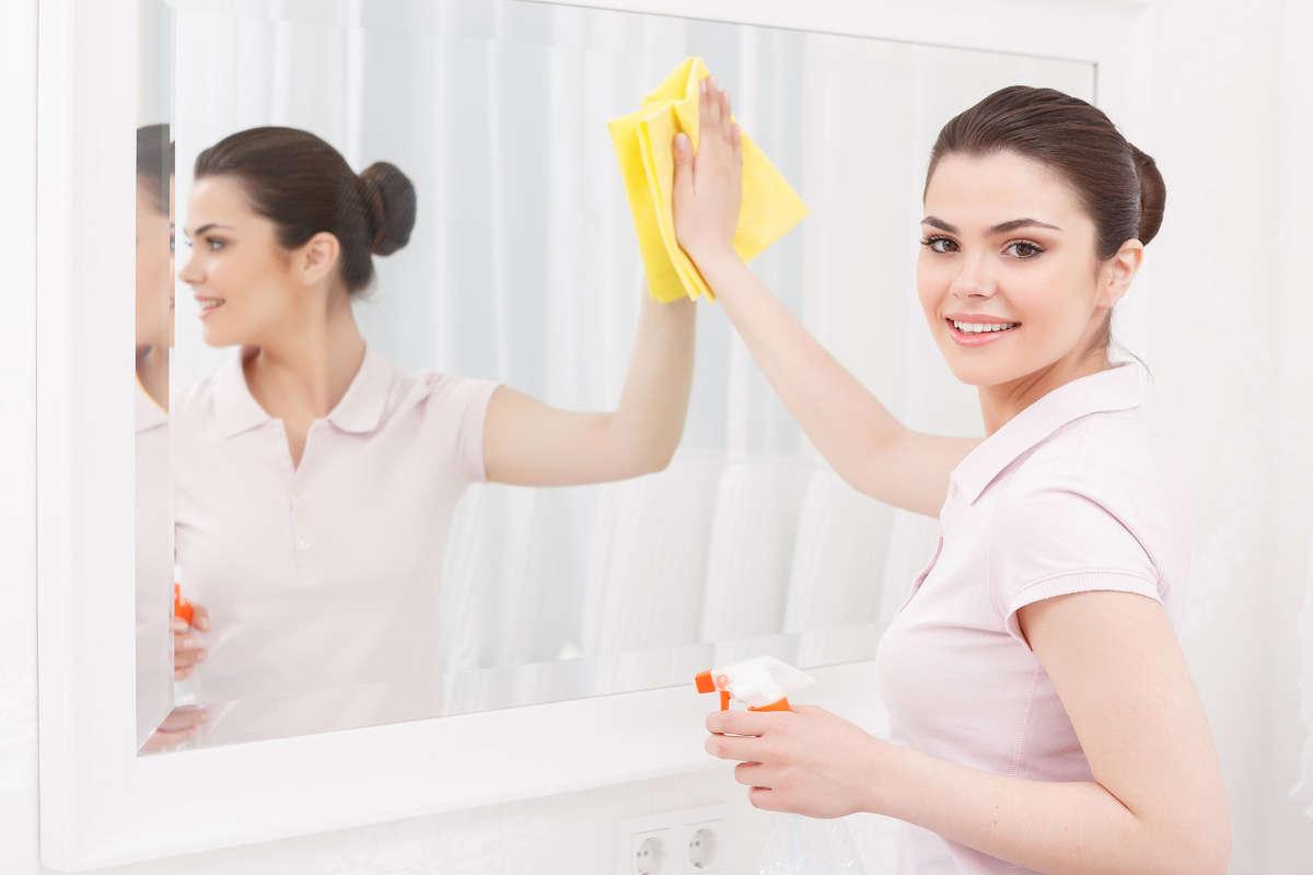 как ухаживать за зеркалом