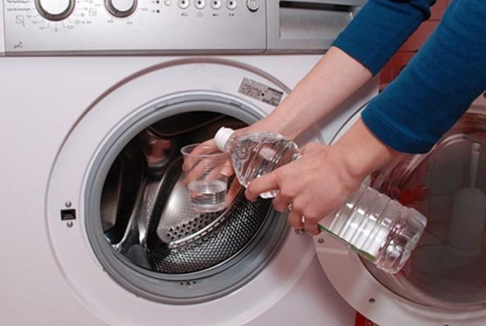 Уксус для чистки стиральной машины