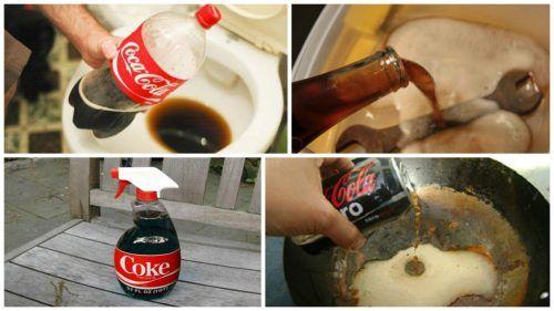 что чистит кока-кола