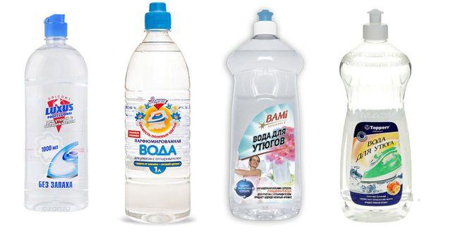 вода для утюгов