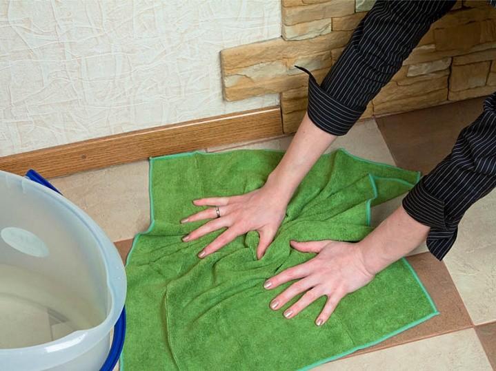 приметы мыть пол полотенцем