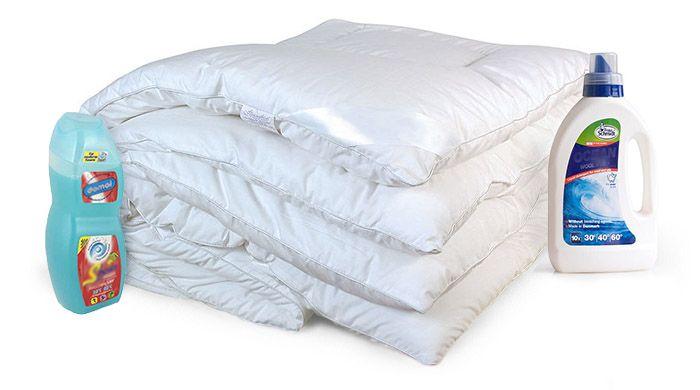 средства для стирки одеял