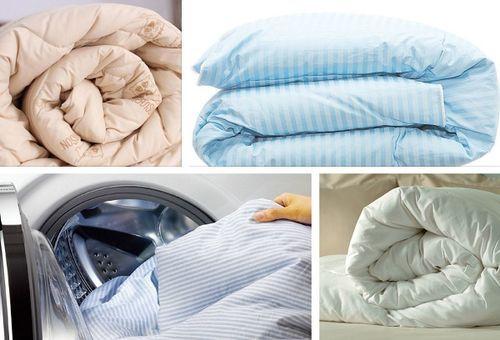 какое одеяло нельзя стирать