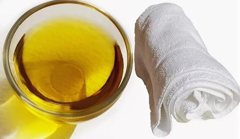 как отстирать полотенца с маслом
