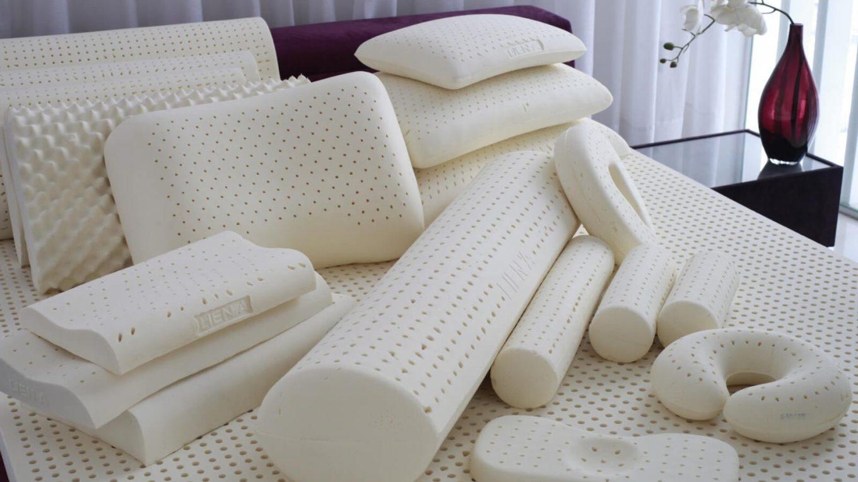 стирка латексной подушки
