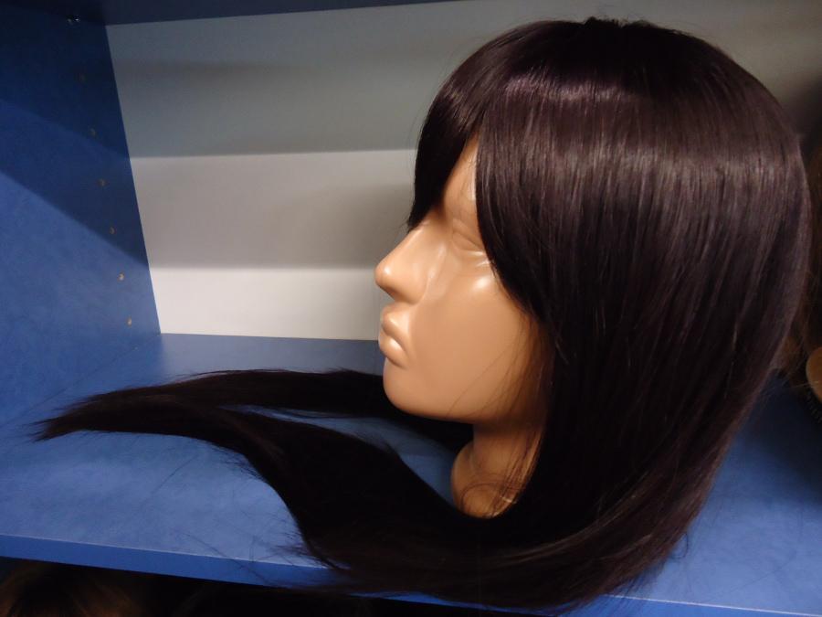 как постирать искусственный парик