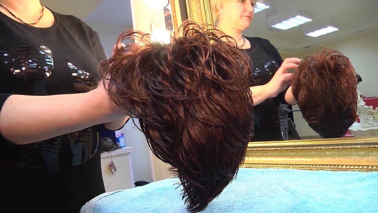 как стирать парик
