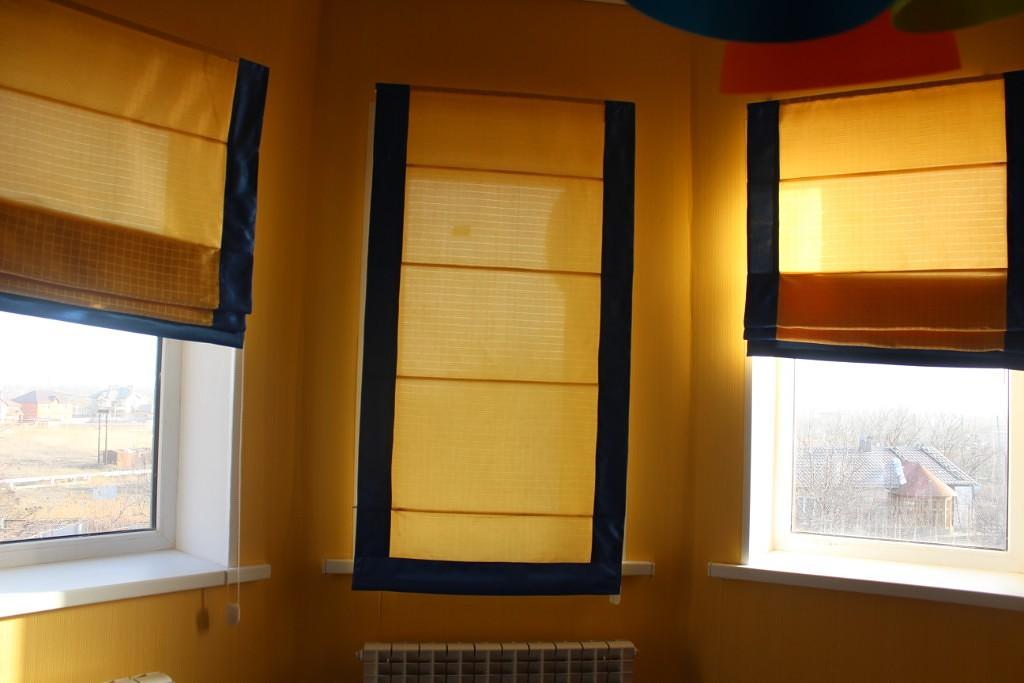 римские шторы стирка