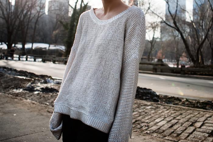 свитер растянулся