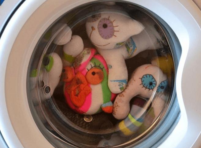 как стирать подушку антистресс