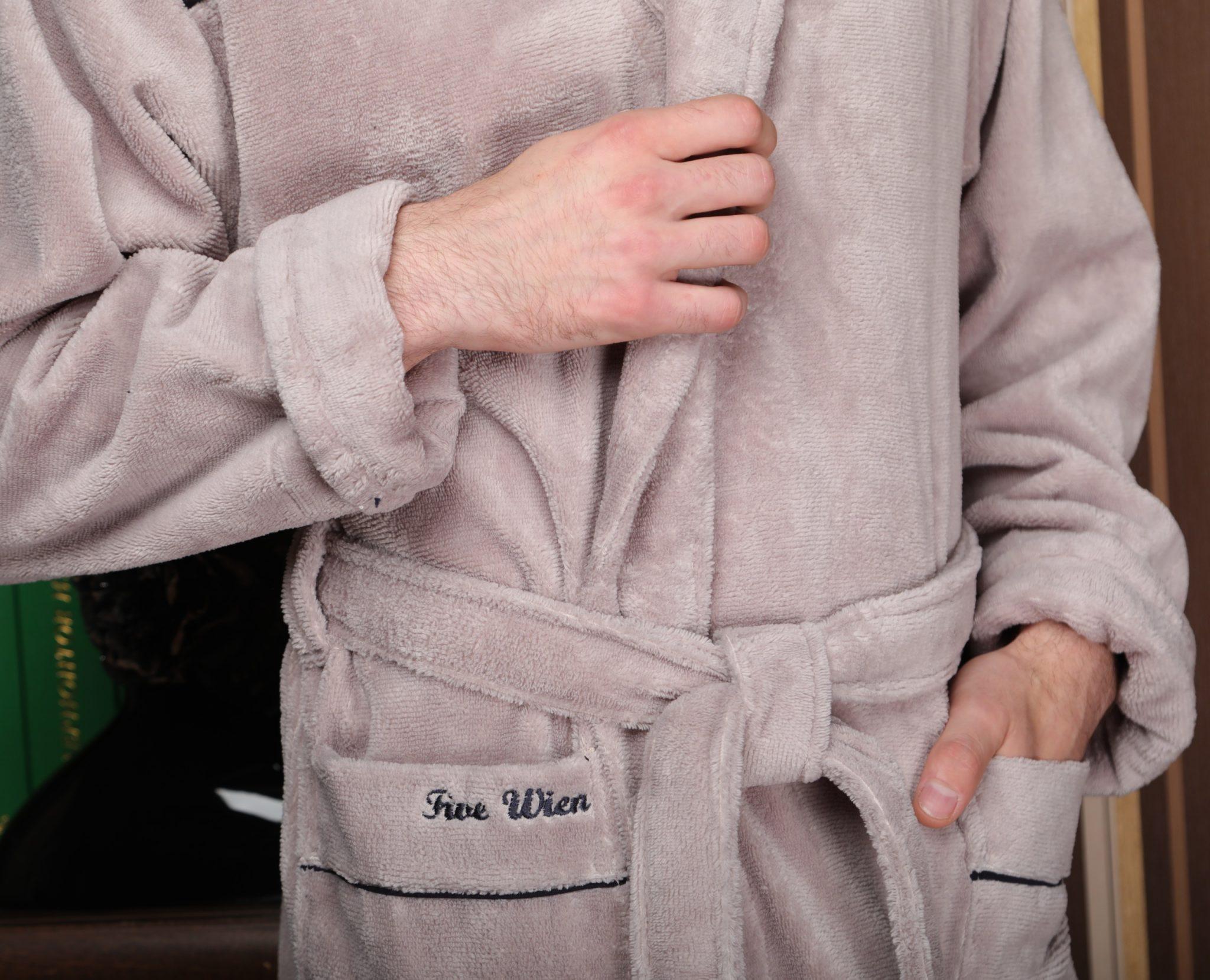 как сдлеать мягким мохровый халат