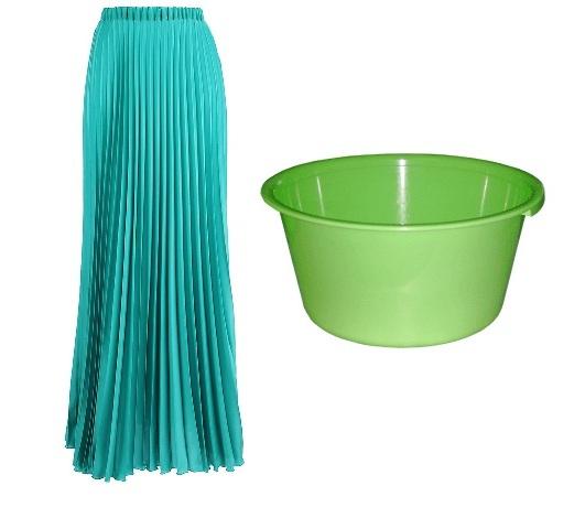 стирка плиссированной юбки