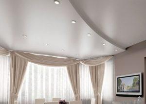 Как помыть сатиновый натяжной потолок