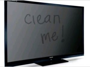 Почему ЖК экран загрязняется