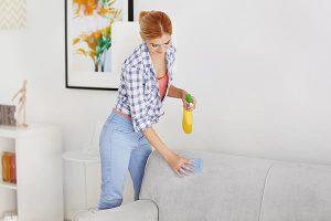 Как избавиться от запаха рвоты с дивана
