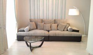 Особенности дивана из флока