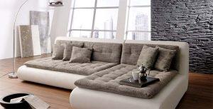 Как почистить диван из рогожки