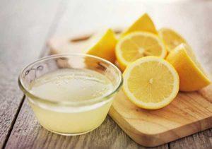Лимонный сок для чистки флока