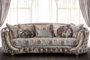 Как почистить диван из жаккарда