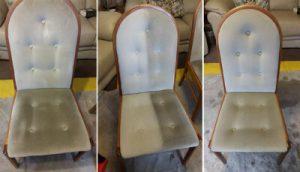 Как правильно чистить стул из ткани