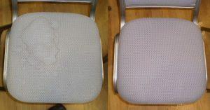 Как почистить компьютерный стул из ткани