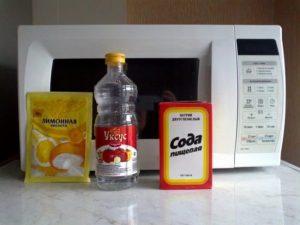 Как удалить запах от микроволновки народными методами