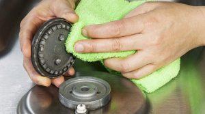 Как очистить конфорки газовой плиты