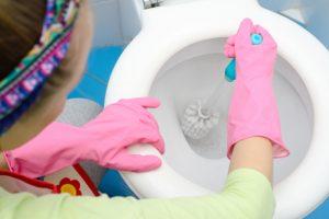 Как очистить унитаз от засора