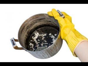 Как очистить кастрюлю из нержавейки