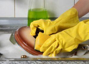 Как очистить кастрюлю от жира