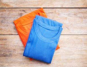 Как правильно складывать футболки после глажки