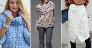 Как отпарить вязаное изделие