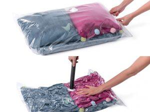 Вакуумные пакеты для хранения вещей - как пользоваться?
