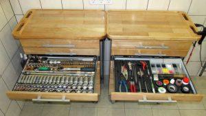 Хранение инструмента в гараже или мастерской