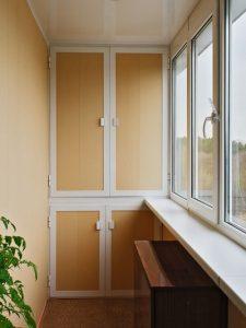 Хранение инструмента на балконе
