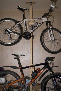 Как хранить велосипед в подъезде