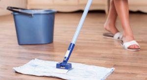 Уборка вечером — основные принципы